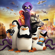 Full Square 5d Diy Diamond Painting The Penguins of Madagascar Diamant Animal Embroidery Movie Home Decor X49