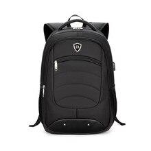 2017 Usb-gebühren Computer Oxford männer Rucksack Tasche Marke 15,6 Zoll Laptop Notebook für Männer Wasserdichte Rucksack schule rucksack