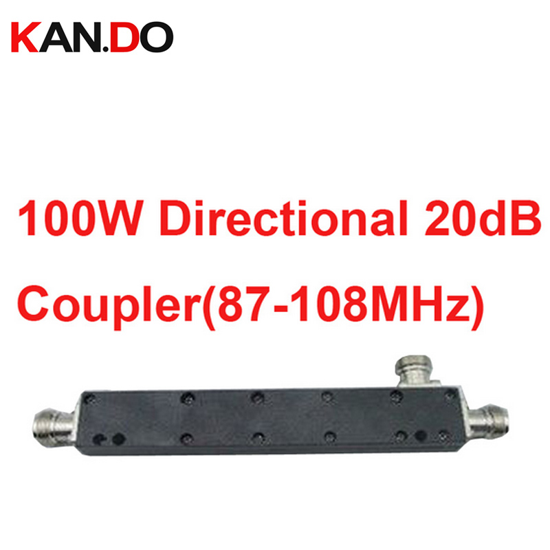 telecom use 100W 20dB coupler signal Power Coupler 20dbi,frequency 87-108MHz coupling power frequency coupler for communication
