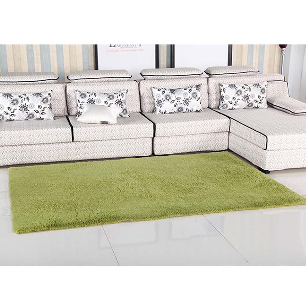 fluffy rug antiskiding shaggy area rug dining room carpet floor mat g green shaggy - Fluffy Rugs