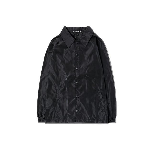 Kanye West Autumn Jacket Yeezy Season 3 Black Green Streetwear Casual Thin Jackets Coat