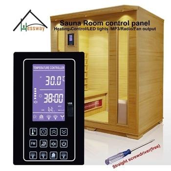110V 220V 30A digital sauna heater controller for 6kw steam system