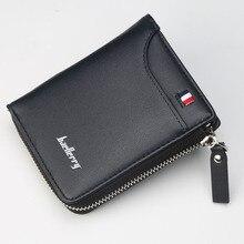 Men Wallet PU Leather Small Mini Multi-card Holder Top Quali