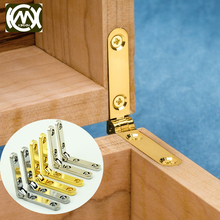 100pcs/lot High-grade zinc alloy hinge hinges for jewelry boxes wholesale price Equipped with screw Popular Chinese products 058