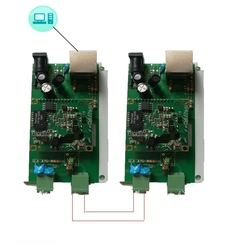 PLC Power Carrier Network Prolongs the Power Line Carrier Relay Repeater Repeater Carrier, (the Price of a Module.)