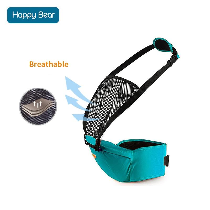 Acheter HappyBear Porte Bébé Multifonctionnel Respirant Kangourous Sac À Dos  Infantile Sling Transporteur Hip Siège Porte ... 21bc2b52758