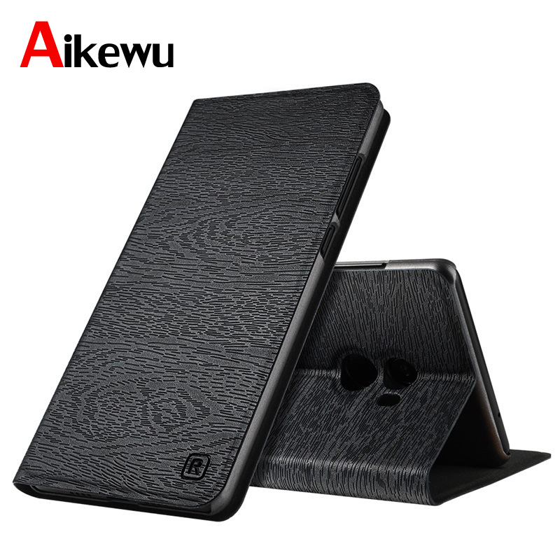 Aikewu For XiaoMi Mi Mix 2 Case Mix2 Luxury Leather Book Style Flip Cover for Full Protection Funda Capa