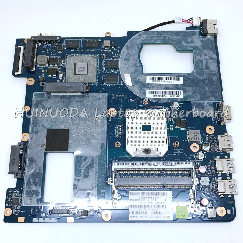 Brand new laptop motherboard For Samsung NP355 NP355C4C NP355V5C QMLE4 LA 8863P BA59 03567A HD7600 1GB