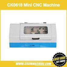 CK0618 мини токарный станок с ЧПУ/Mach3 мини токарный станок/DIY металлический токарный станок с ЧПУ