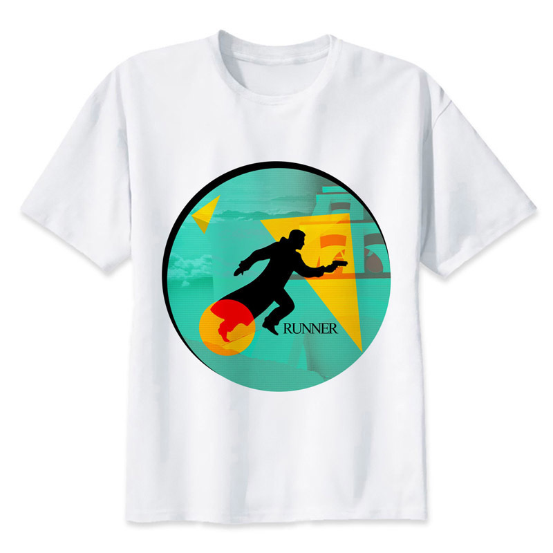 Blade Runner T shirt Hip Hop Style New Original Design T-shirt Cool Fashion Man women tshirt Color MRR344