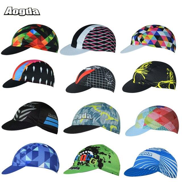 2017 nouveaux casquettes de cyclisme à séchage rapide hommes femmes 100% Polyester vélo chapeaux vtt vélos équipe sport chapeau Bandanas Gorra Ciclismo