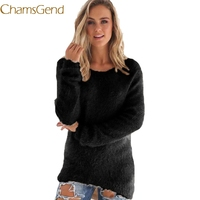 Chamsgend Jumper Newly Design Women Winter Warm Fl ...