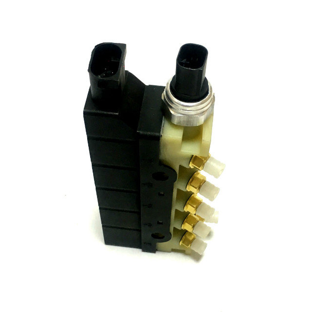 Image 4 - New Air Suspension Solenoid Valve Block Air Ride Controller For Jaguar XJ 2003 2009 C2C2265-in Shock Absorber& Struts from Automobiles & Motorcycles