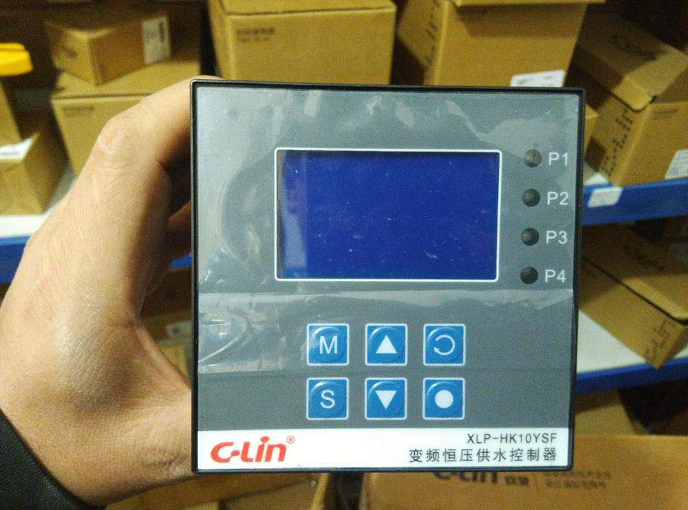 C-Lin Xinling XLP-HK10YSF variable frequency constant pressure water supply controller AC220V with timing functionC-Lin Xinling XLP-HK10YSF variable frequency constant pressure water supply controller AC220V with timing function