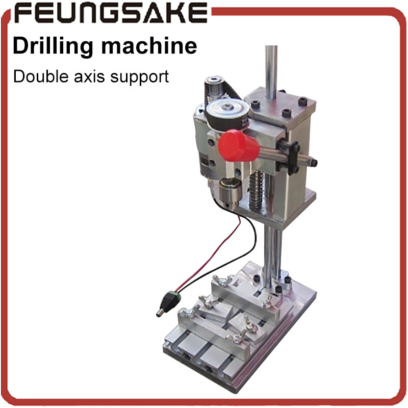 JT0 type drilling machine 4mm chuck Mini Drill Press Bench Small Drill Machine drilling Work Bench speed adjustable mini electric drilling machine variable speed micro drill press grinder pearl drilling diy jewelry drill machines 5168e