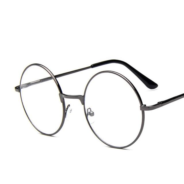 827f6f23890e 10 Pieces lot Hot Brand Eye Glass Frames For Women Man Small Round Glasses  Frames