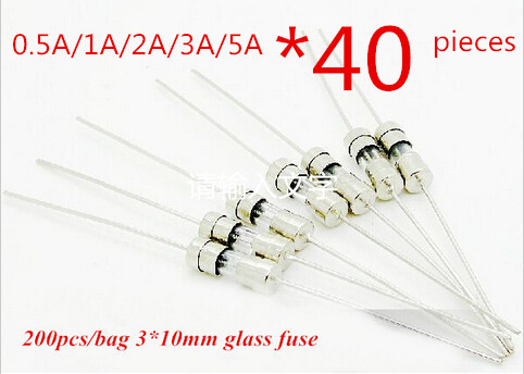 0.5A 1A 2A 3A 5A 3*10MM Fast quick blow Fuse With pin insurance tube glass fuse ,5values*40pcs=200pcs free shipping 50pcs set 5x20mm fuses assortable kit fuse quick fast blow glass tube 5x20mm 0 5a 1a 2a 3a 4a 6a 7a 8a 10a 15a 250v high quality