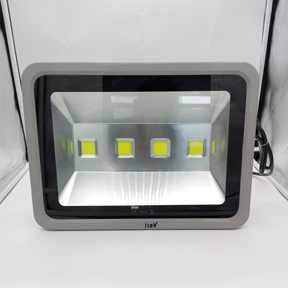 Ultrathin LED Flood Light 200W LED Floodlight IP65 Waterproof 220V 110V LED Spotlight Outdoor Lighting ultrathin led flood light 200w ac85 265v waterproof ip65 floodlight spotlight outdoor lighting free shipping