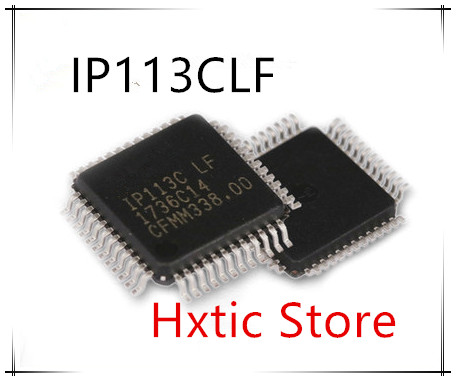 NEW 10PCS IP113C LF IP113C LF IP113 IP113CLF QFP 48 IC