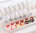 Бесплатная доставка Лучшие Друзья BFF милые смолы торт кулон из бисера ожерелья цепи, 3 цвета lead никель-кадмиевые бесплатно дети ювелирные изделия