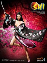 1/6 Scale Asia Version Female Action Figure Kimono Girl Model Phicen Toys PL2014-71B-1 SHIKids Collections