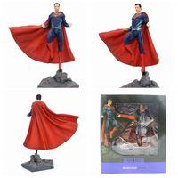 DC Superman Justice League Figure IRON STUDIOS Superman Action Figure PVC Collectible Model Toy