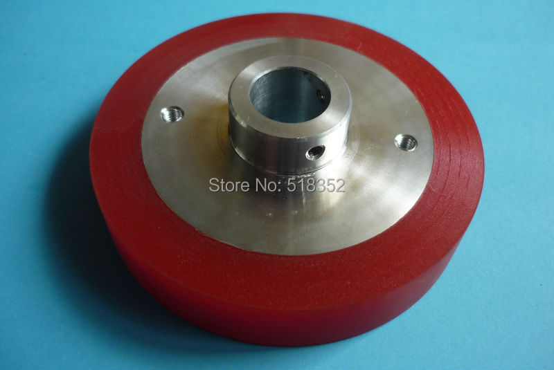 S416 Sodick Urethane Tension Roller Upper 3053703 Red, WEDM-LS Wire Cutting Wear Parts vertical correction calibrator for tools of sodick or ssg wedm ls wire cutting machine parts