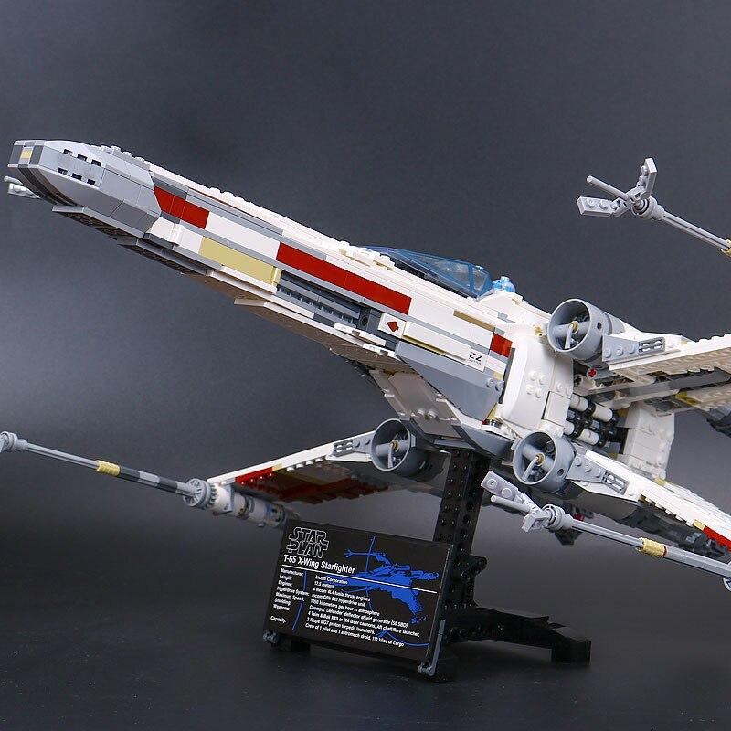 LEPIN 05039 Cool Modèle 1586 pièces ÉTOILE Rouge Cinq X Starfighter aile blocs de construction Briques jouet Compatible 10240 pour Garçon cadeaux GUERRES - 4