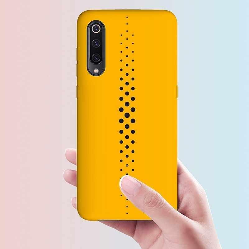 Nefes Lüks Marka Için Xiao mi mi 9 kılıf Moblie Telefonu Için Gamer Düz Yumuşak Silikon Arka Kapak Xiao mi mi 9 telefon kılıfı Coque