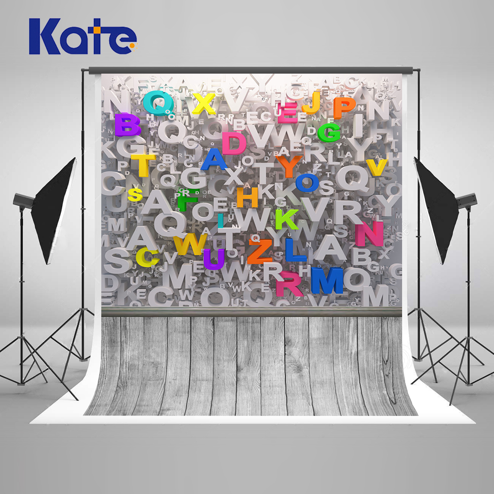 Kate Back To School Coloring By Numbers Fotografie Achtergrond Letter Wood Backgrounds Photo Studio Washable Photocall Backdrop блокнот в клетку с вашим текстом back to school