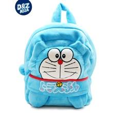 Blue little cat plush bag cartoon baby boys and girls kids backpack child korean plush toys