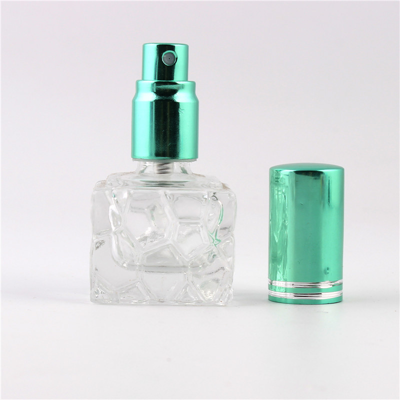 XYZ - Stylish 8ml Unique mini glass perfume bottle Sprayable refillable perfume bottle atomizer цена