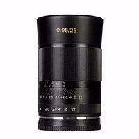 Meike MK FX 25 0.95 Large Aperture Manual Focus lens APS C For Fujifilm XT1