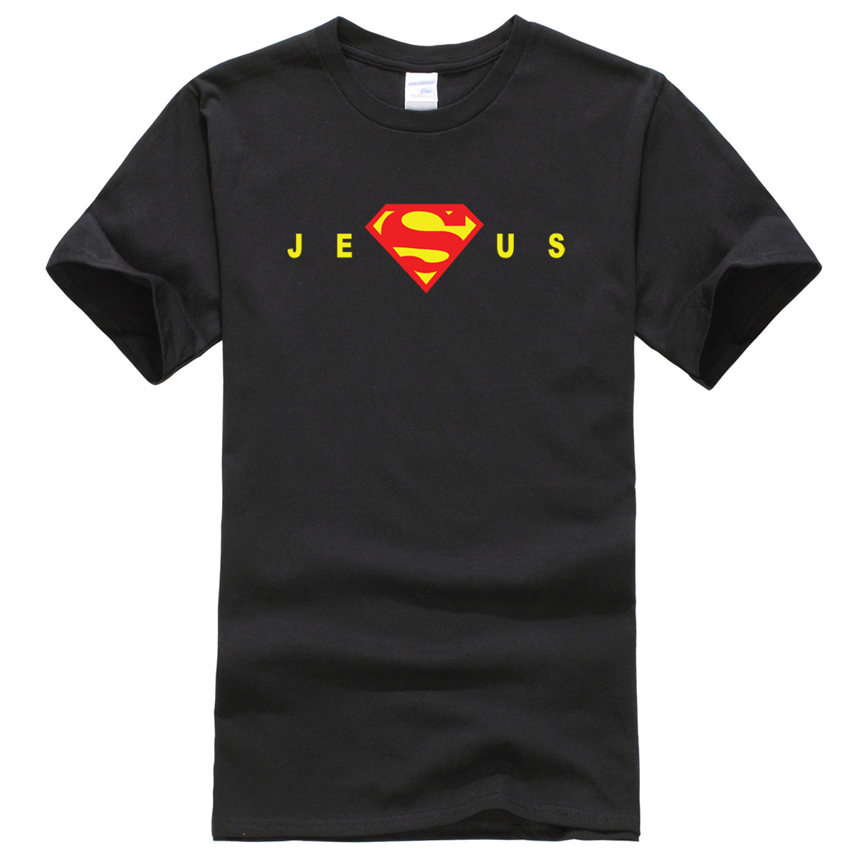 Hot men's T-shirt 2019 Men Super Jesus Christ Homeboy Superstar T Shirt jersey t shirt men harajuku homme hip hop brand-clothing