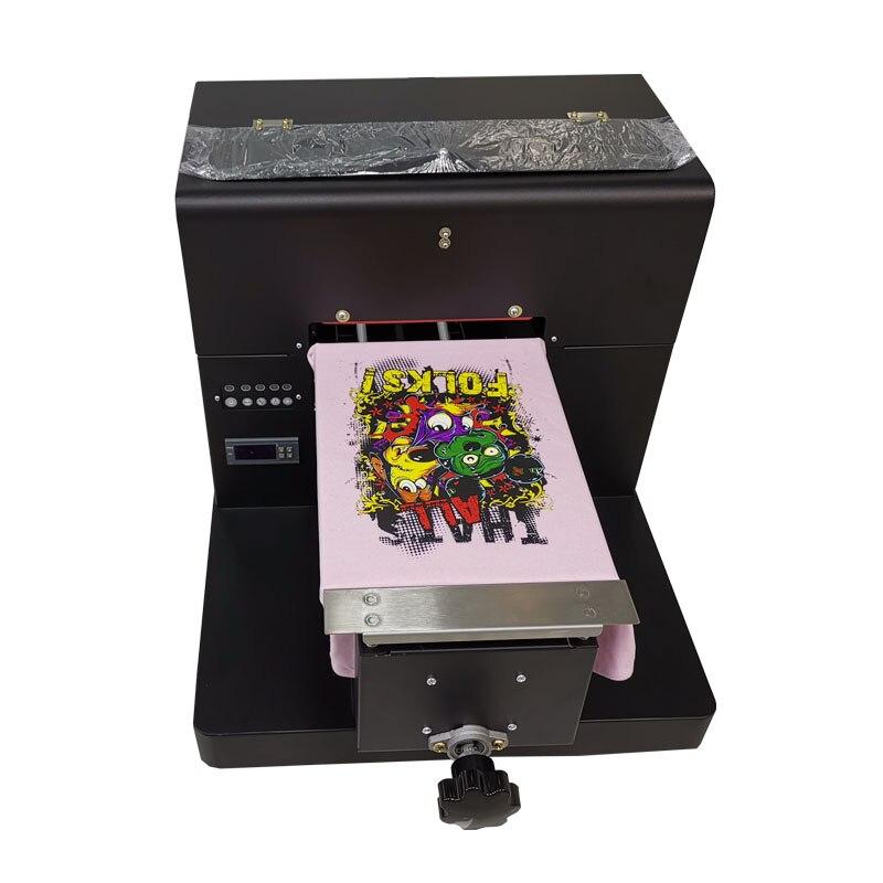 Livraison gratuite DTG couleur sombre vêtement imprimante Eco solvant imprimante imprimante de coque de téléphone