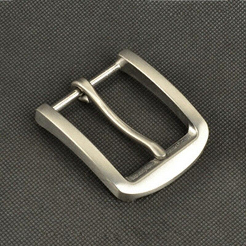 En stock 2016 Nueva alta calidad del acero inoxidable hebilla de cinturón  de correa del vaquero del metal mens Vaqueros Accesorios 4 cm cinturón ancho b46ff187d05