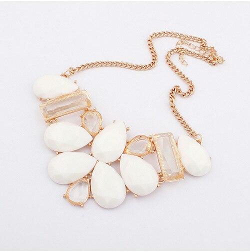 Мода водослива колье коренастый воротник заявление Ожерелье женщин ювелирные Ожерелья и подвески Бесплатная Доставка XN-00368