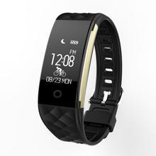 ขายดีบลูทูธ4.0 LEDกันน้ำสมาร์ทนาฬิกาข้อมือสร้อยข้อมือกีฬานาฬิกาธันวาคม2