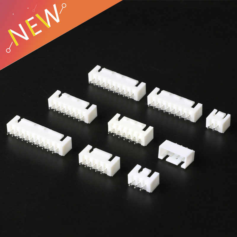 20Pcs/lot XHB 2.54MM Connector with Buckle  2/3/4/5/6/7/8/9/10/11/12 Pin 2.54mm Male Socket Straight Pin with Buckle Connectors