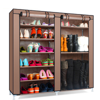 Simple Modern Shoe Rack Home Assembly Multilayer Dormitory Storage Shoes Rack Dustproof Shoes Shelf Cloth Shoes Cabinet