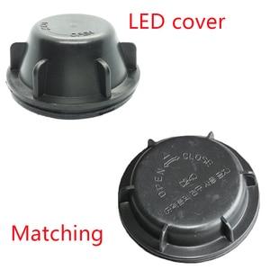 Image 2 - 1 pc起亜リオ 2011 ランプカバープレートled電球延長ダストカバー拡張リアカバー防水キャップY1026J y1070Y Y1070X