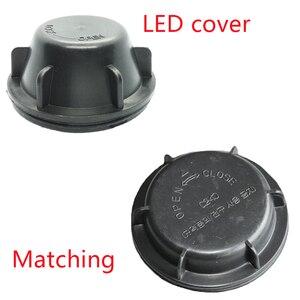 Image 2 - Placa de cubierta de lámpara para kia rio 2011, cubierta de extensión de bombilla LED, antipolvo, cubierta trasera extendida, impermeable, Y1026J Y1070Y Y1070X, 1 ud.
