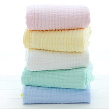 Bath Towel Baby Washcloths For Sensitive Skin Cotton Towels 110*110cm Six Layers of Gauze without fluorescent Blanket