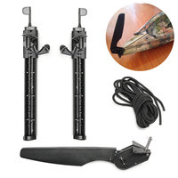 Top Quality Water Sports New Rudder Watercraft Fishing Boat Kayak Canoe Foot Braces Pedal Pegs Accessory