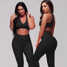 Anti Cellulite Leggings Push Up Fitness Pants Women Sexy Leggins High Waist Slim Activewear Gyms Wear Butt Lifting Legings Black
