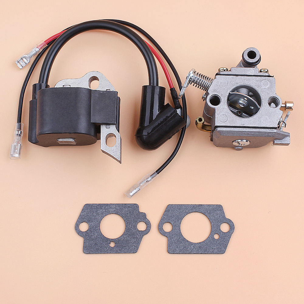 Carby Carburetor & Ignition Coil Kit For Stihl 017 018 MS170 MS180 MS 170 180 Chainsaw 1130 120 0608 / 1130 400 1302 Aftermarket