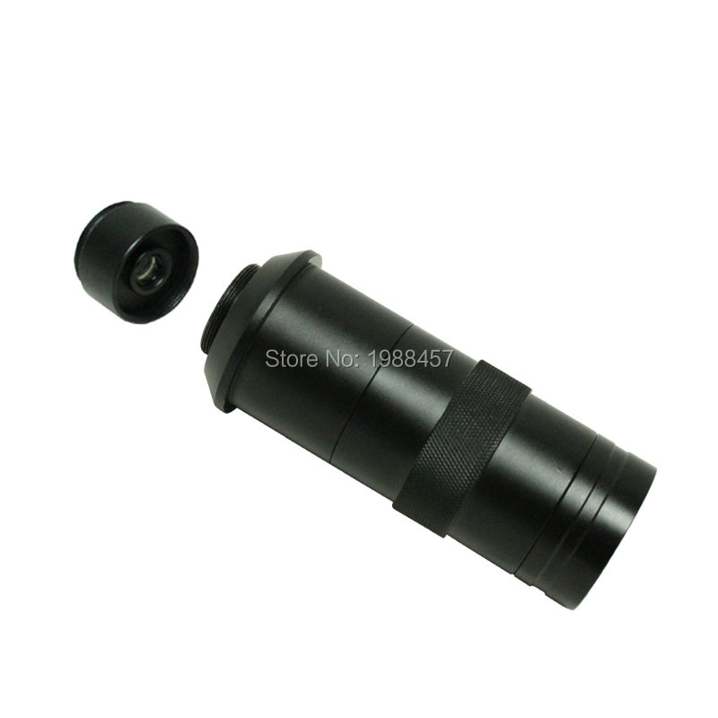 Free Shipping 16X-220X zoom C-mount Lens microscope camera eyepiece lens industry magnifying glass