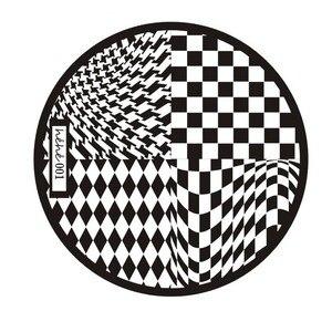 Image 2 - 1pc Nail Art Polish Stamp Plates 12 Designs Round Nail Stamping Plates DIY Nail Art Template Manicure Nail Tools Hehe 001 012#
