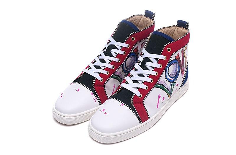 De Dedo Casuais Casal Zapatos Graffiti Amor Picture Calçados as Apartamentos Lace Sapatos Novos Luxo Picture Redondo Marca Up Pé Beertola As Do Cartas Unisex Camurça Mujer E0zXUqw