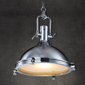 Suspension industrielle en métal Vincent lampes suspendues de pays rustique Loft café salon luminaire allemagne Design E27 HM24